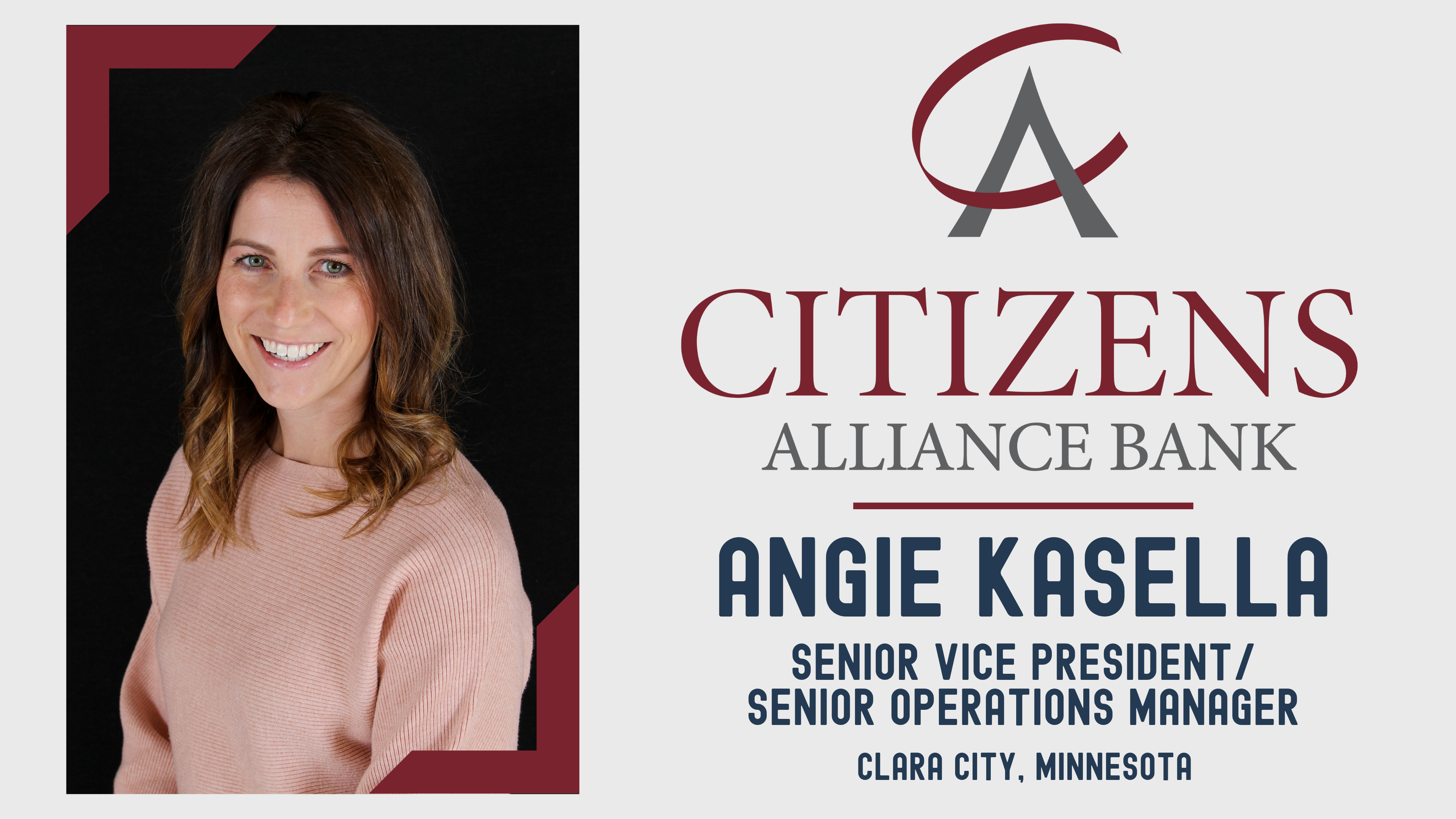 Congratulations Angie Kasella Picture