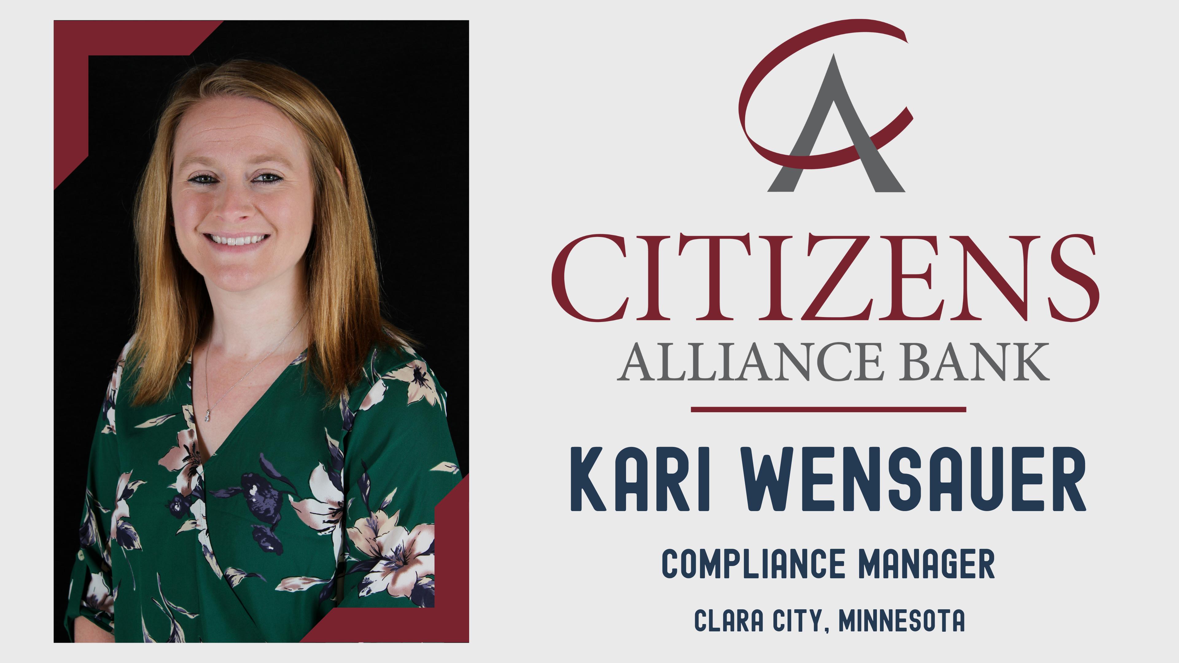 Congratulations Kari Wensauer Picture