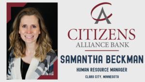 Samantha Beckman Press Release