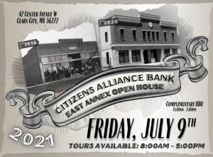 East Annex Open House Invite
